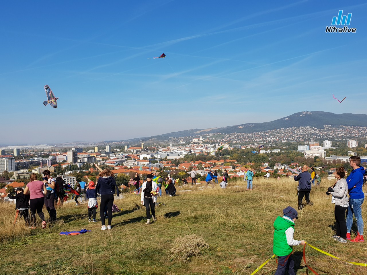 Šarkaniáda Nitra 2018 - foto + video