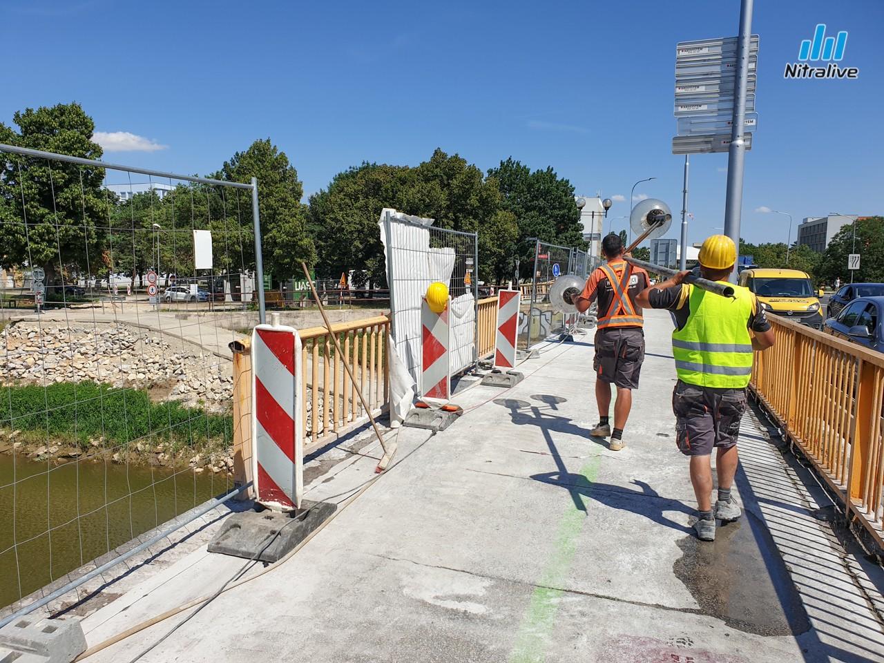 4794fa879 Rekonštrukcia Univerzitného mosta aktuálne + informácie o uzávierke (4. júl  2019)